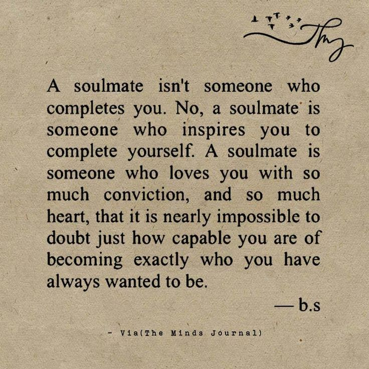 Dating love soul mate