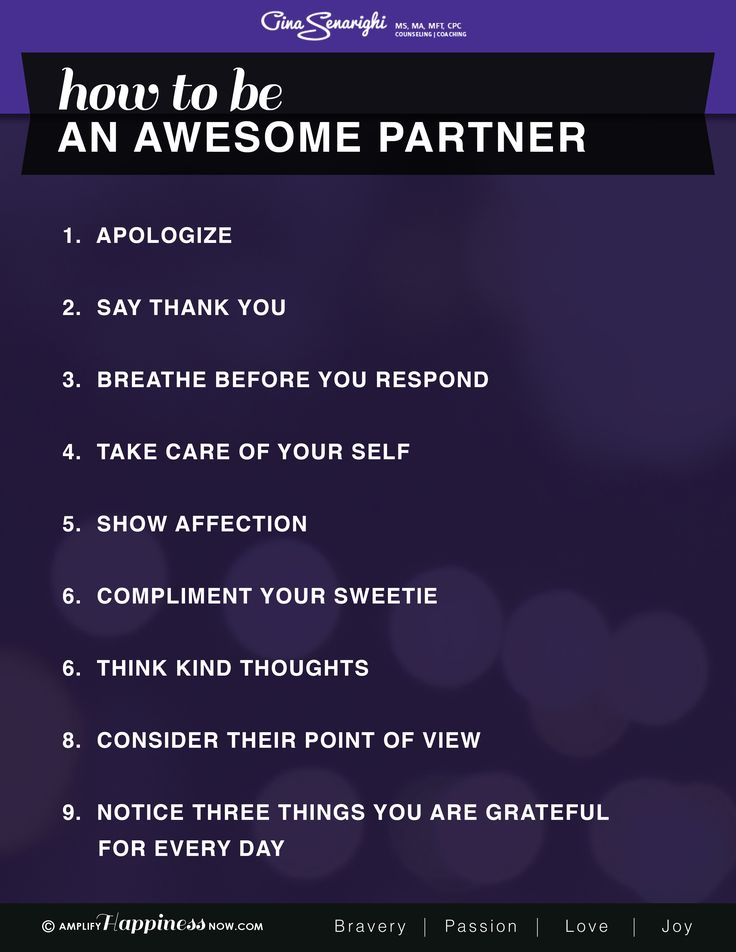 Steps to take when dating