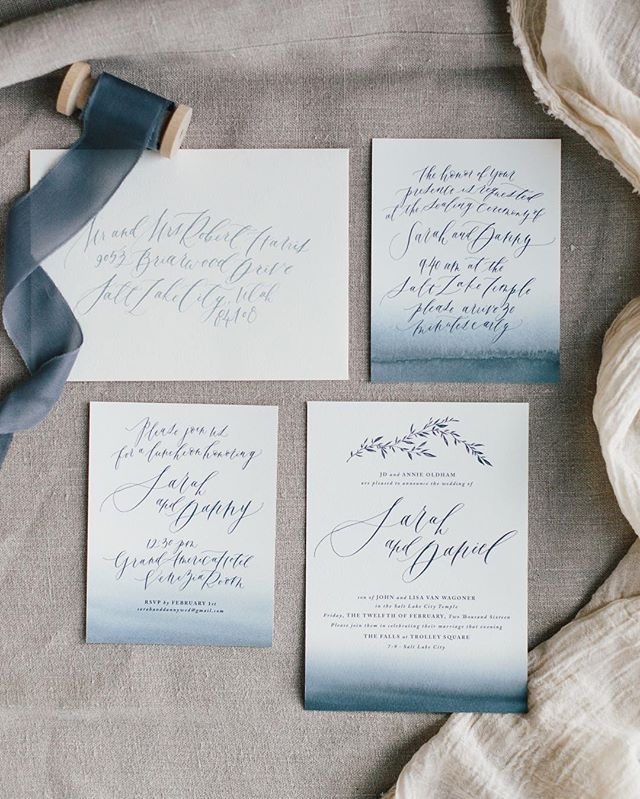 Wedding Invitations 2017 2018Annie Bunker Mertlich on Instagram